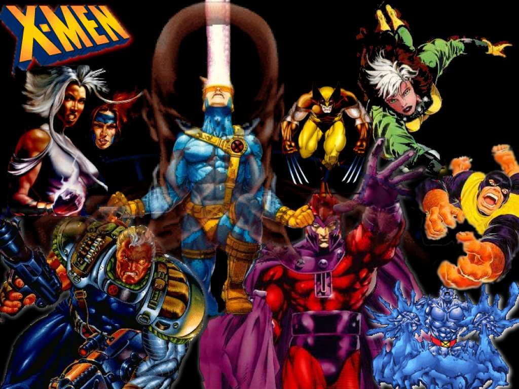 Fuentes de Informacin   X  Men Wallpapers 1024x768