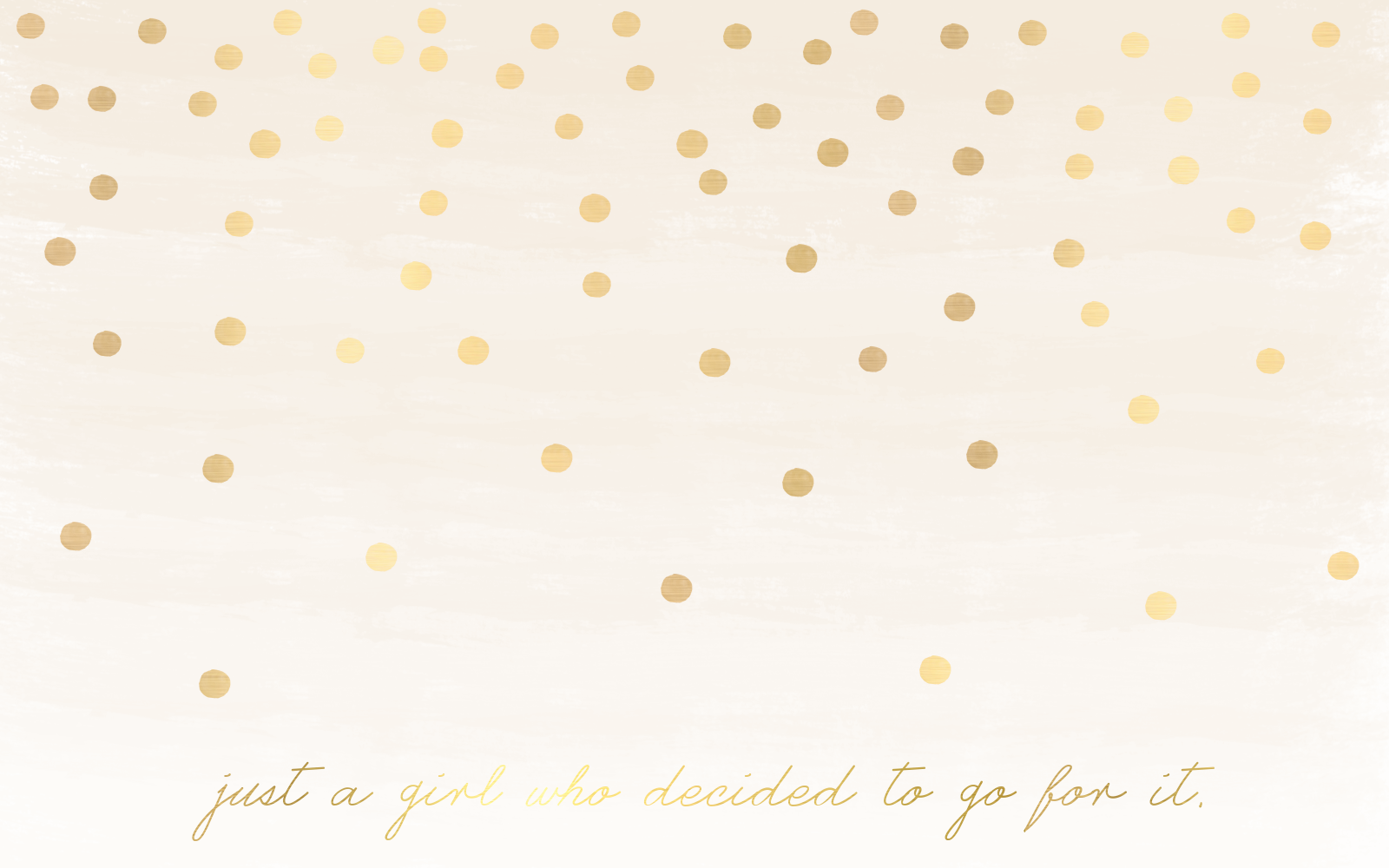 Gold polka dot wallpaper wallpapersafari - Gold desktop background ...