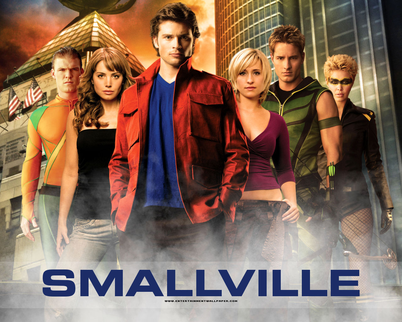 smallville lois and clark wallpapers wallpapersafari