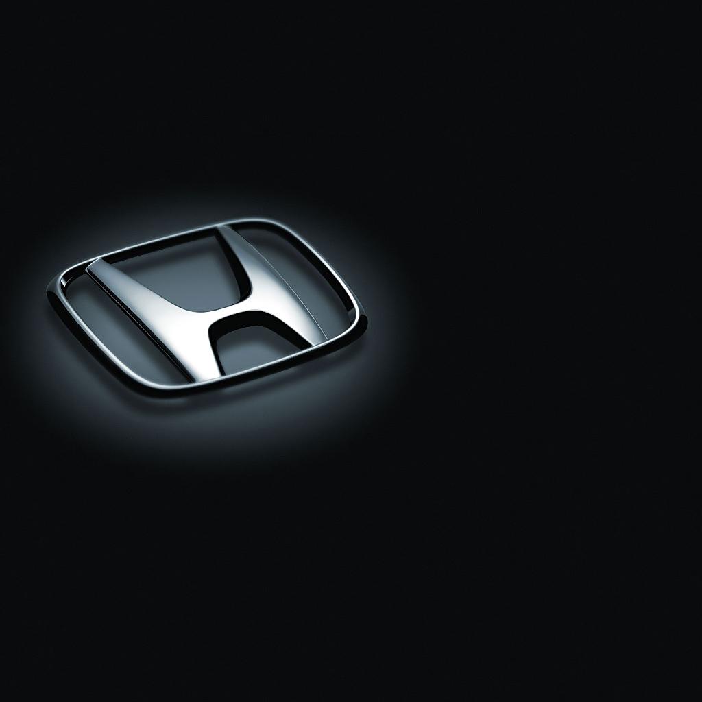 Honda Logo iPad Wallpaper Background and Theme 1024x1024