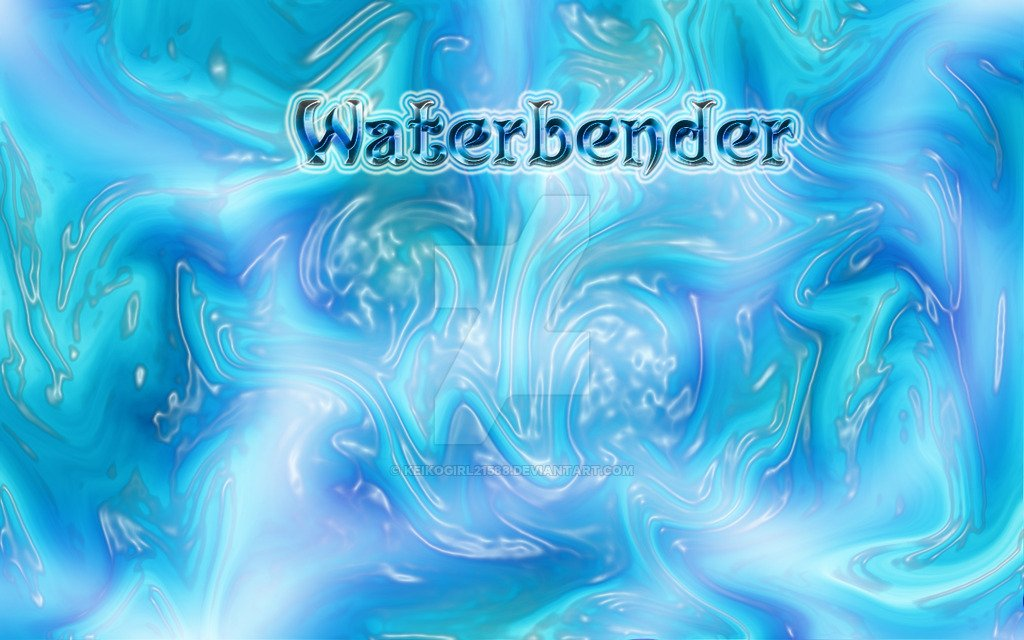 Waterbender Wallpaper by CeruleanLegacy 1024x640