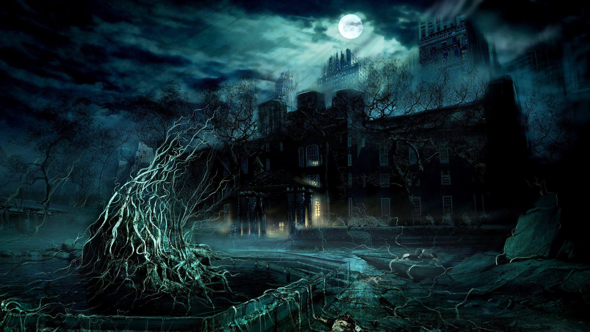 Gothic Dark Art 3D Fantasy Places HD picture nr 47797 1920x1080