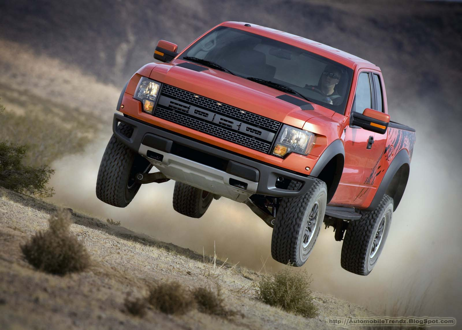 Automobile Trendz Ford Raptor Wallpaper 1600x1142