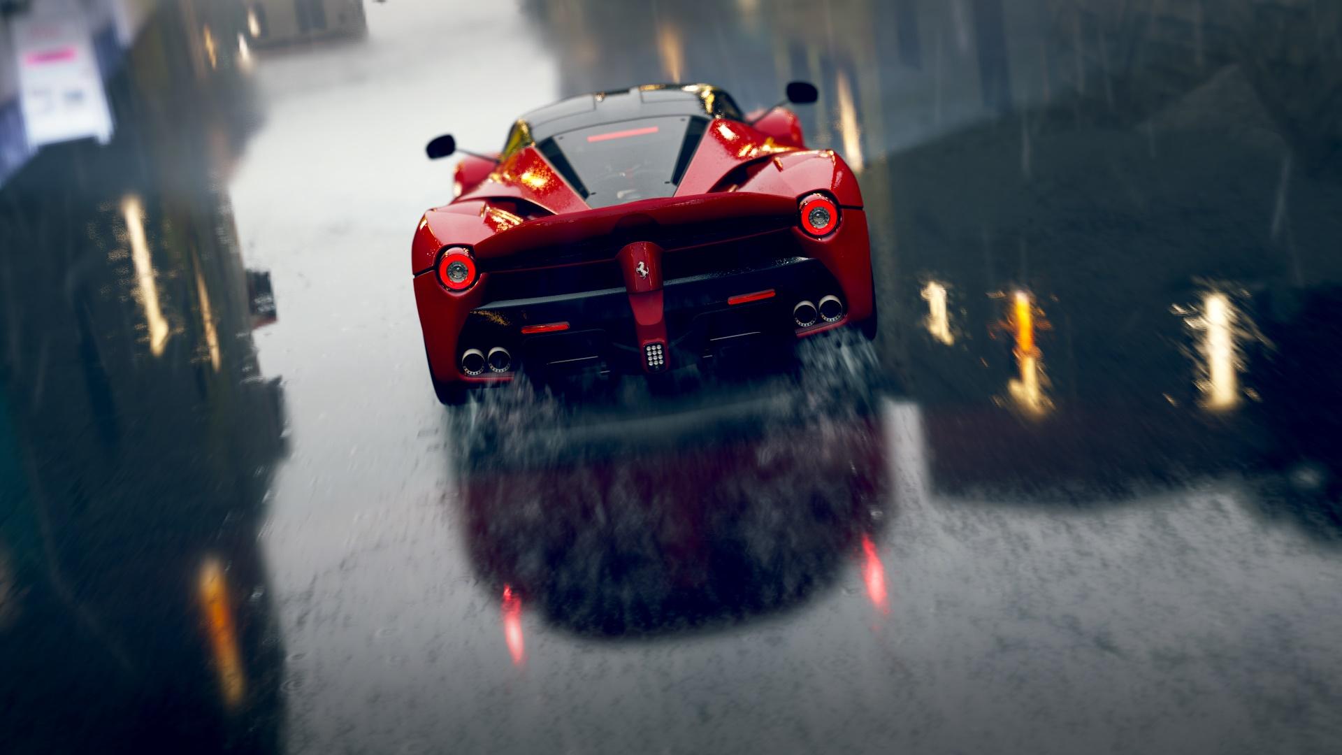 Forza Horizon 2 Red Ferrari Wallpaper 1080p 1920x1080