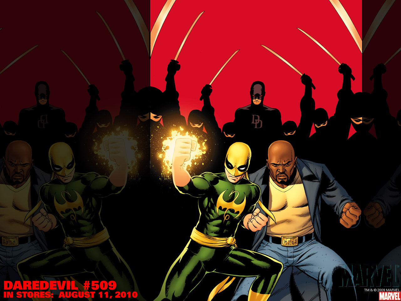 Action Immortal Iron Fist Wallpaper 1280x960
