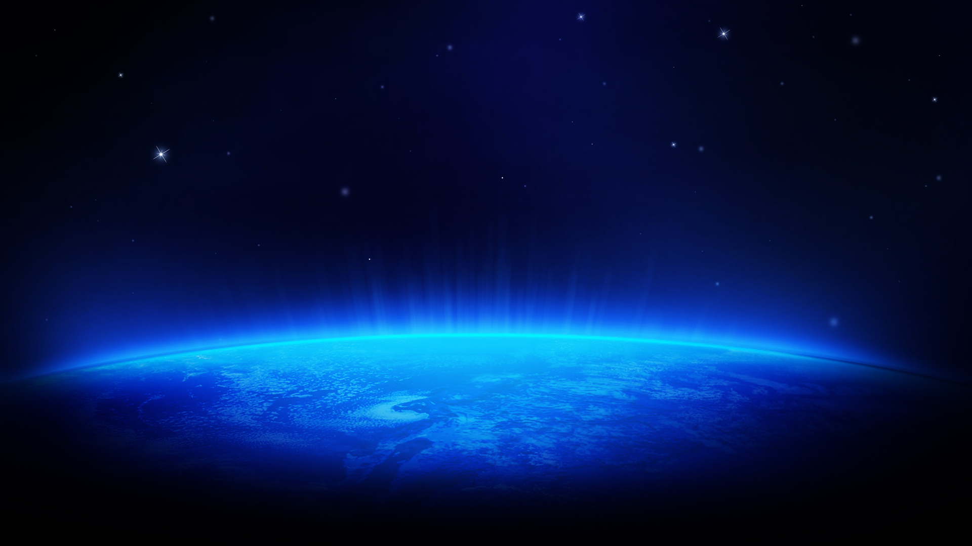 Blue Space HD Wallpaper 1080p HD Wallpapers 1920x1080