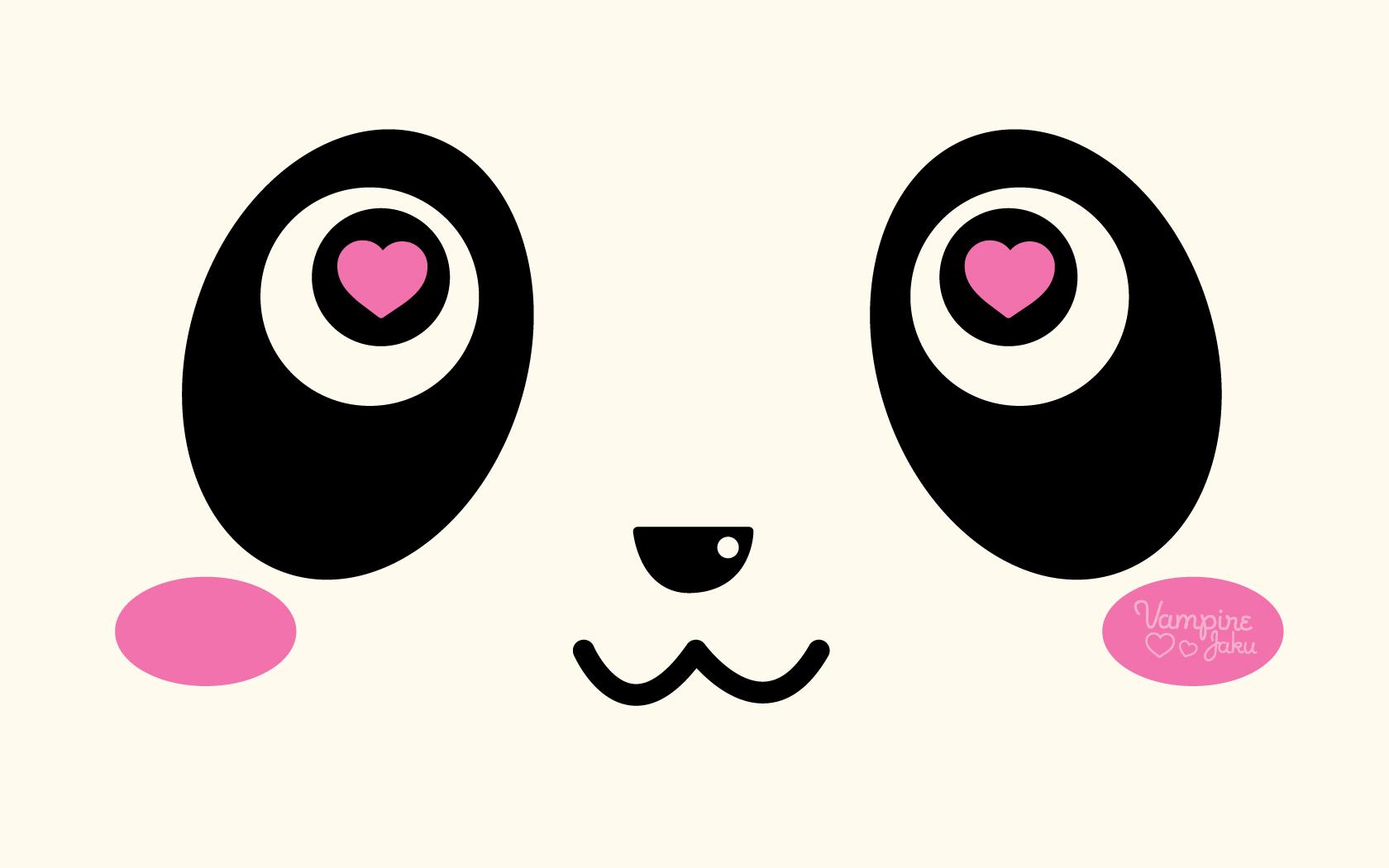 Panda Face Wallpaper Cute 10338 Wallpaper Cool Walldiskpapercom 1680x1050