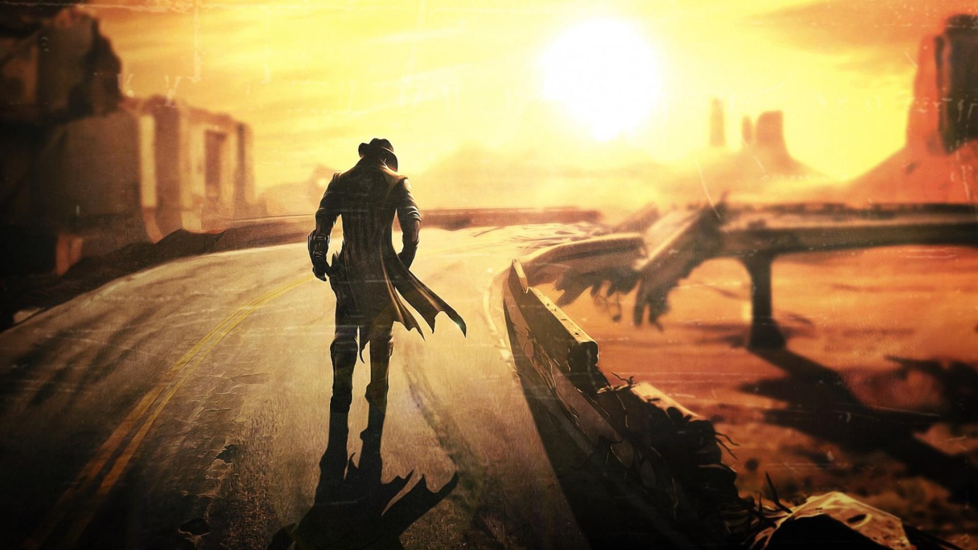 Fallout New Vegas Desktop Wallpaper - WallpaperSafari