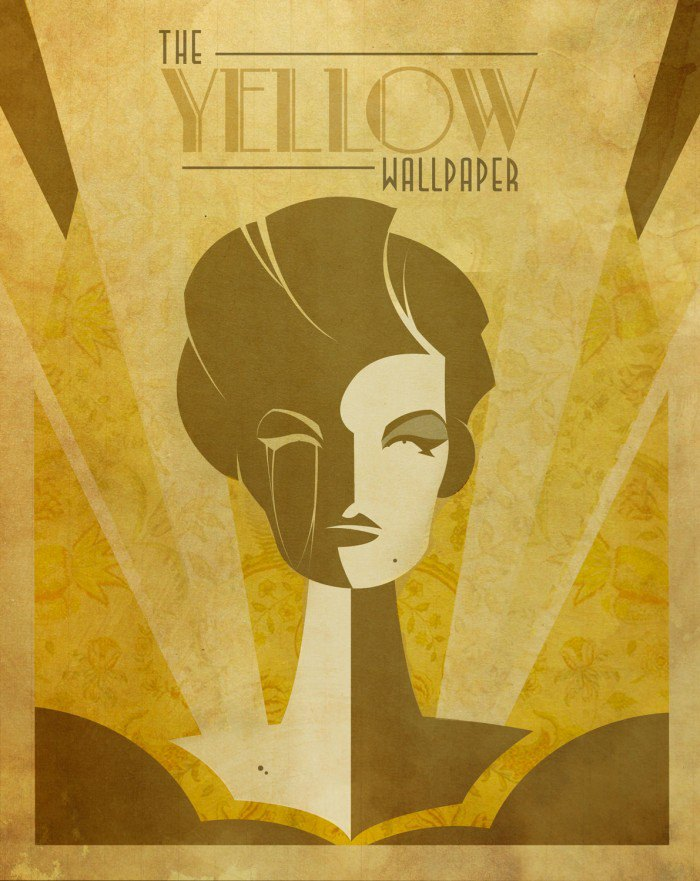 PosterVine The Yellow Wallpaper Poster by PosterVine on deviantART 700x881