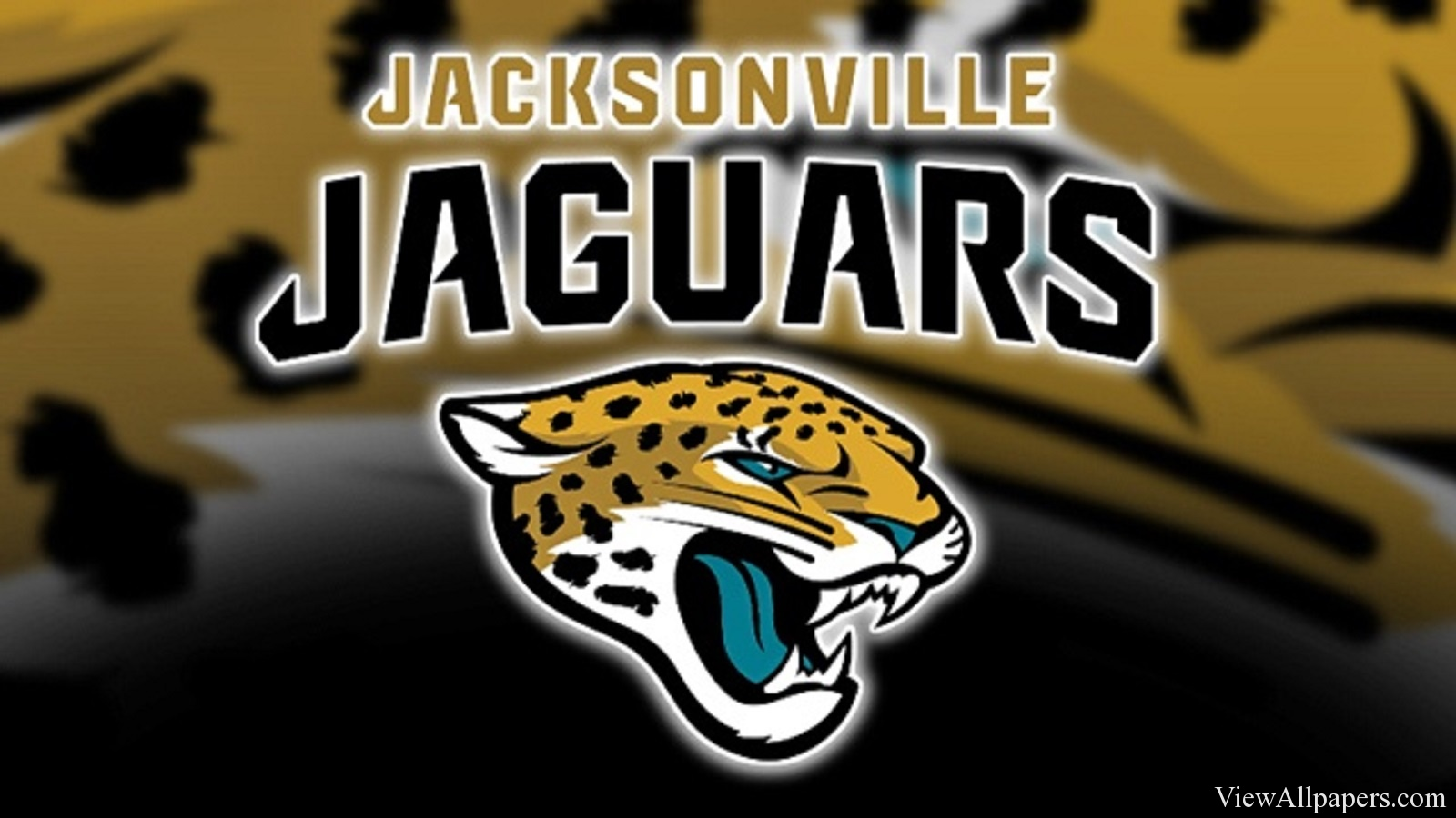 Jacksonville Jaguars Logo For PC computers desktop background 1600x900