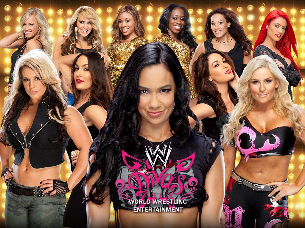 Wwe divas hd wallpaper wallpapersafari - Wwe divas wallpapers ...