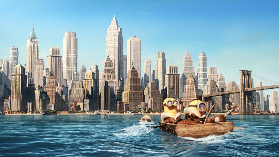 Minions in New York City 4K Wallpapers 900x506