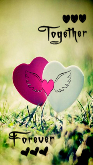 Download Together forever   Love wallpapers 360x640