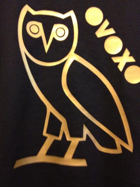 Ovo Owl Logo Wallpaper Owl drake ovoxo black 450x600