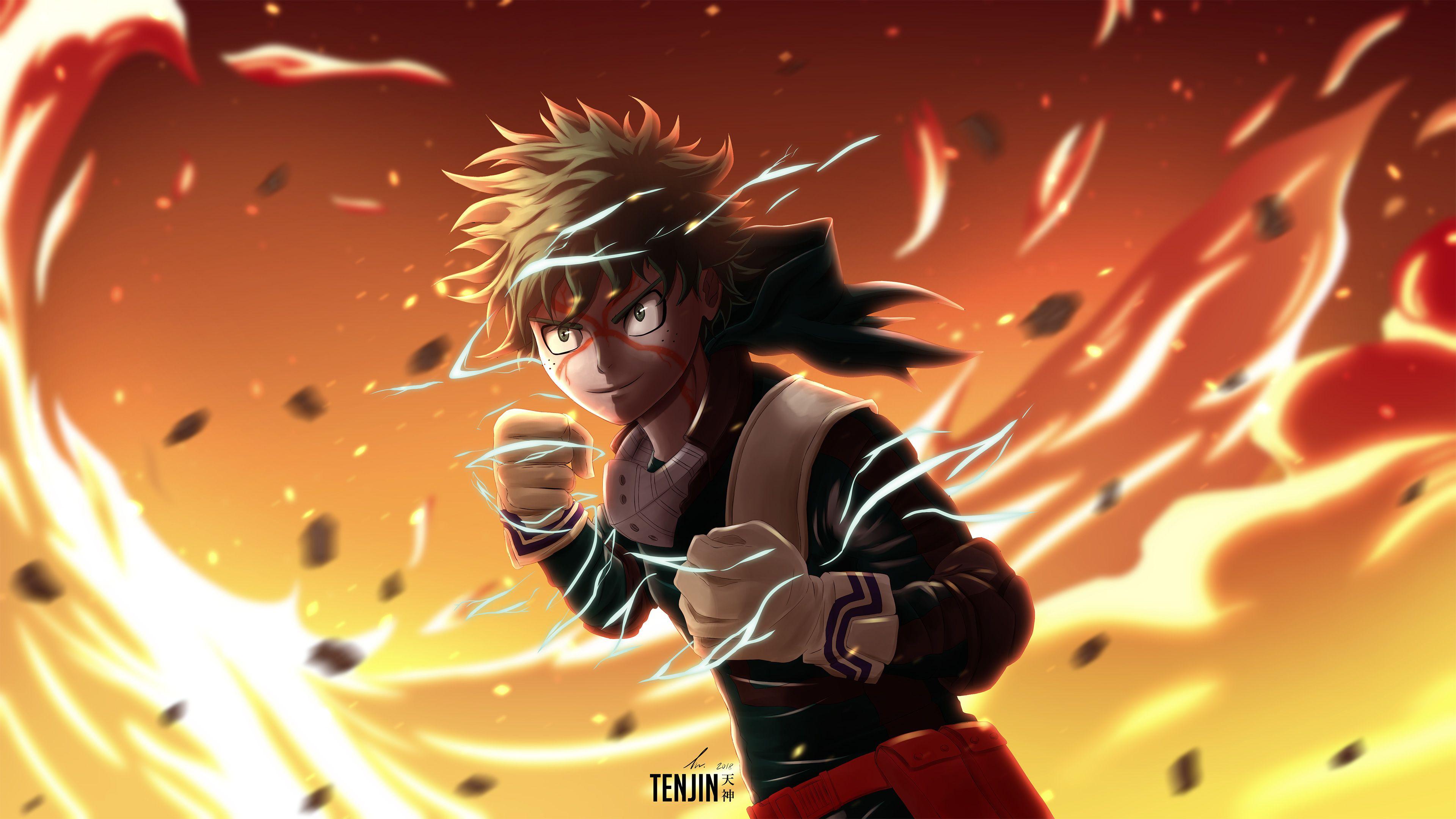 Deku My Hero Academia 4K Wallpapers   Top Deku My Hero 3840x2160