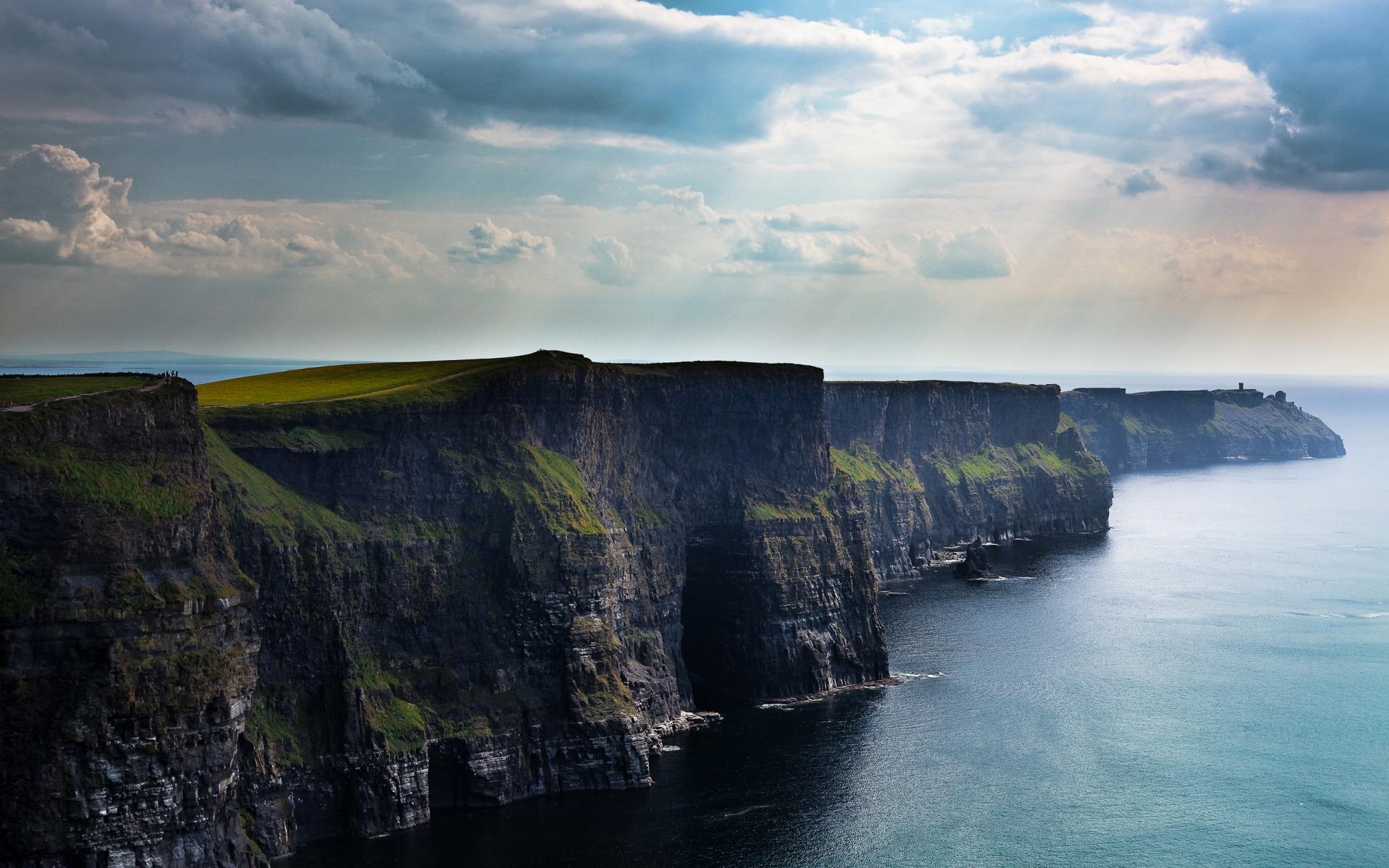 moher ireland wallpaper scenic cliffs wallpapers popular 1920x1200