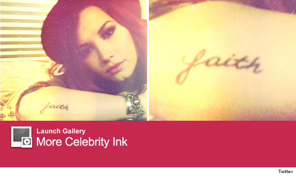 Demi Lovato added a new tattoo to her already extensive collection of 610x365