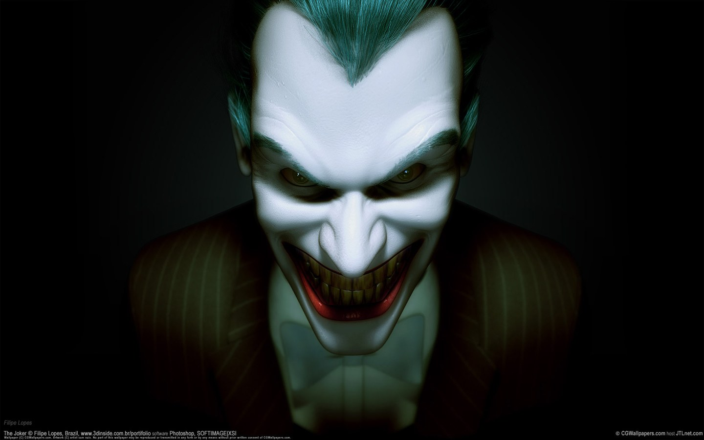 The 3d Joker for Computer Wallpapers   HD Wallpapers 57045 1440x900