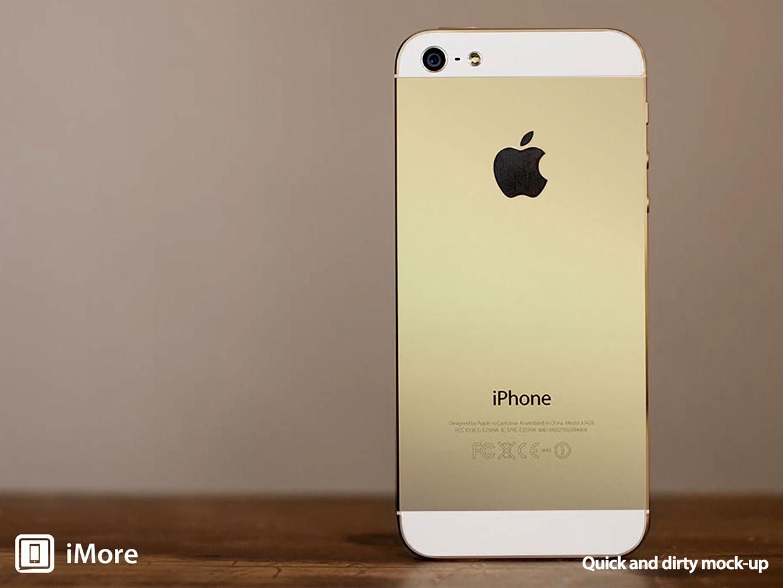 Apple Iphone 5s Gold Wallpaper 1240x930