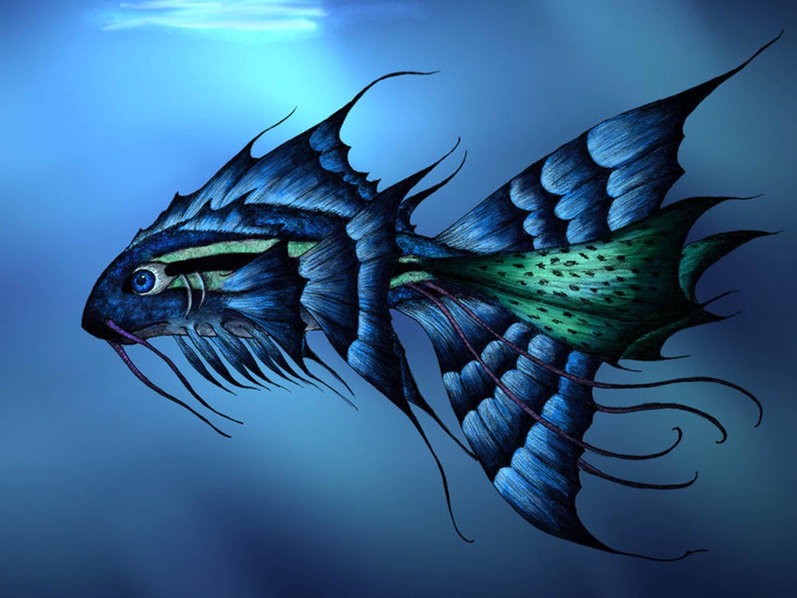 Wallpapers 3D Fish Desktop Wallpapers 3D Fish Desktop Backgrounds 1600x1200