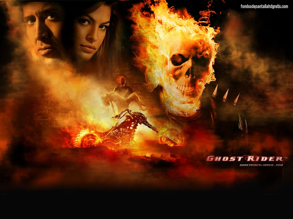Descargar imagen ghost rider movie wallpapers 1024x768 hd widescreen 1024x768
