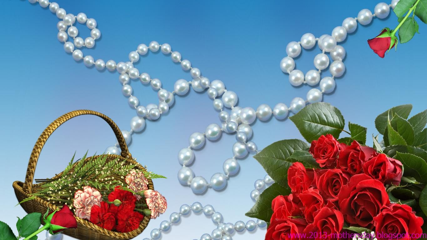 Mothers Day 2016 desktop HD Wallpapers Happy Mothers Day 2016   Gift 1366x768