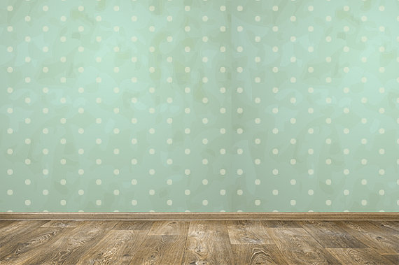 Removable Wallpaper  Vintage Dots  Peel Stick Self Adhesive Fabric 570x379