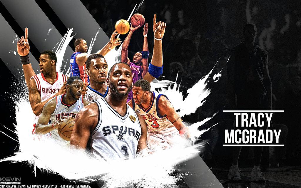 Mac nba career wallpaper by Kevin tmac 1024x640