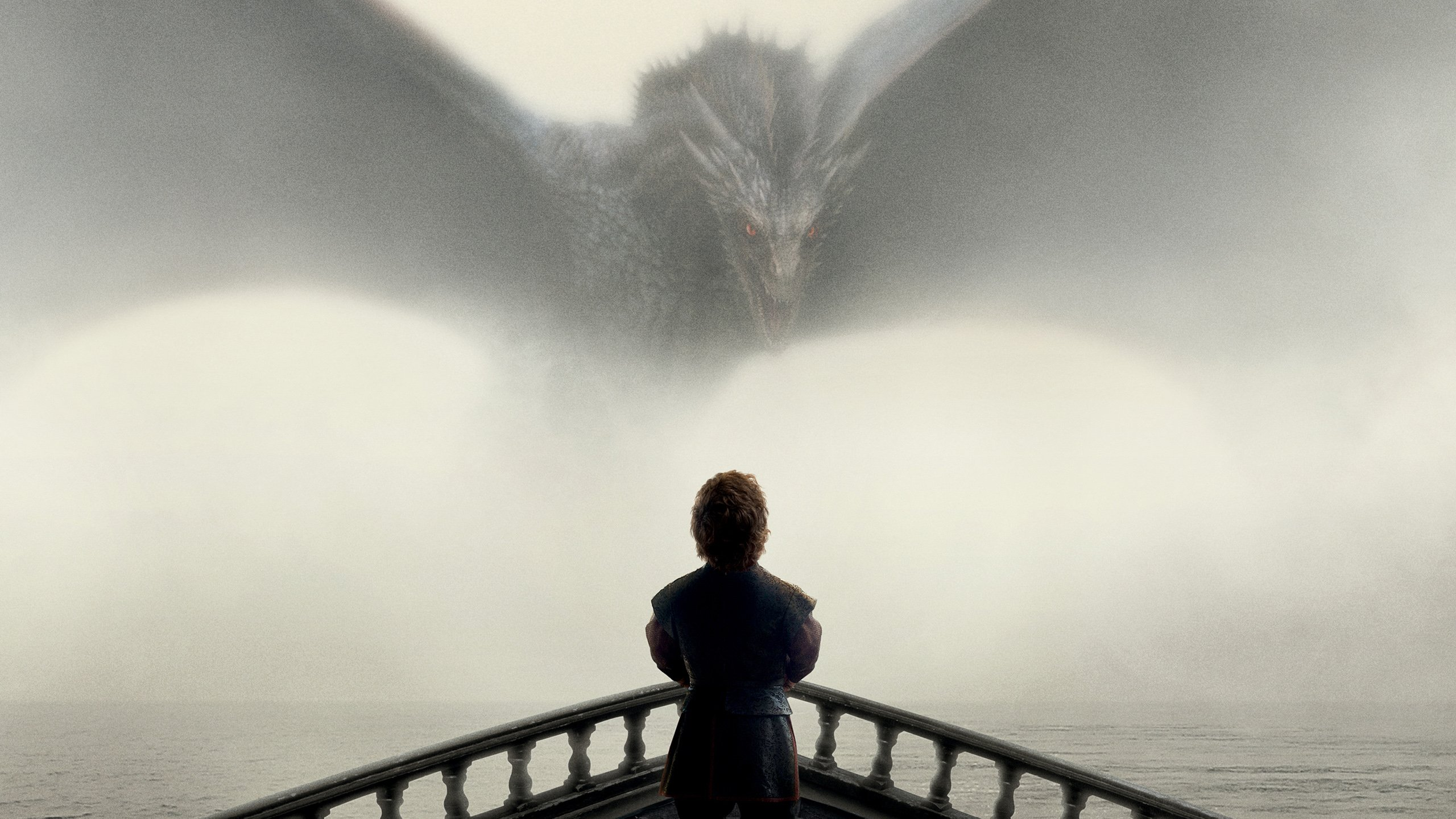 Game of Thrones Tyrion and Drogon Wallpapers HD Wallpapers 2560x1440