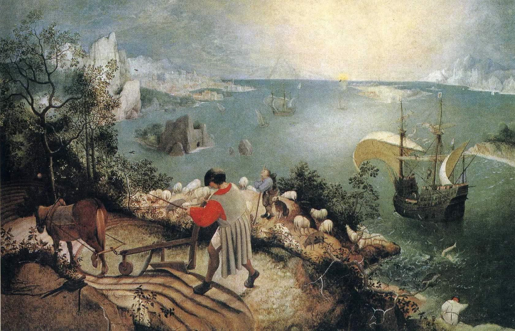 Landscape Wth The Fall Of Icarus   Pieter Bruegel The Elder 1681x1080
