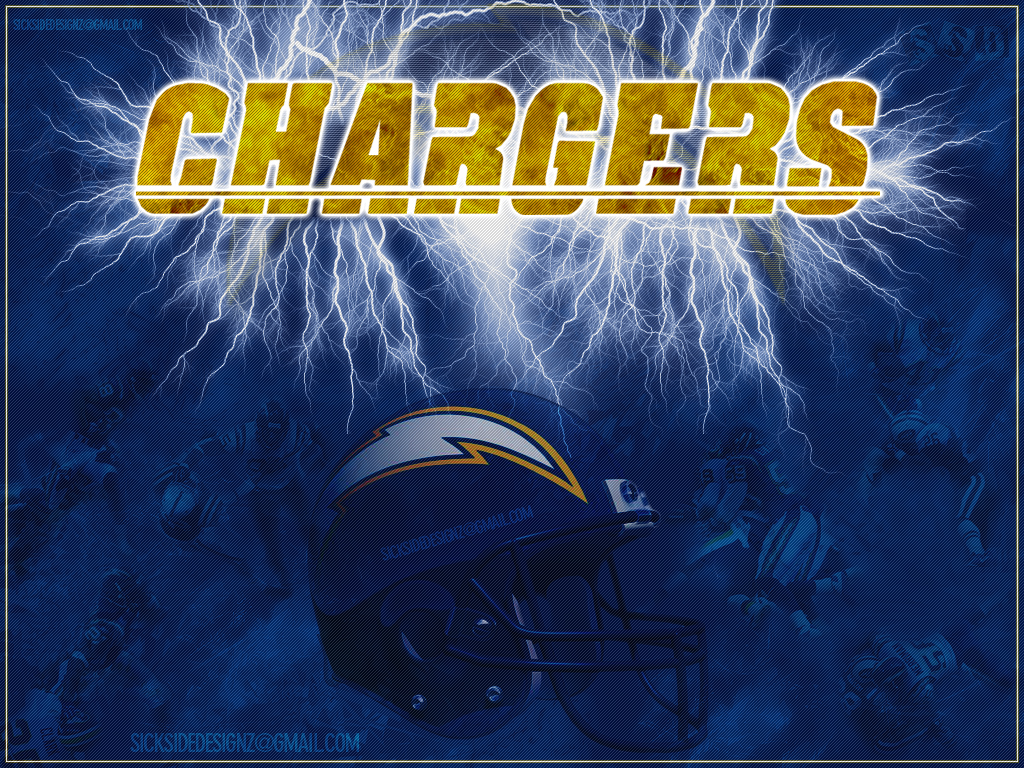 San Diego Chargers Wallpaper by sicksidedesignz 1024x768