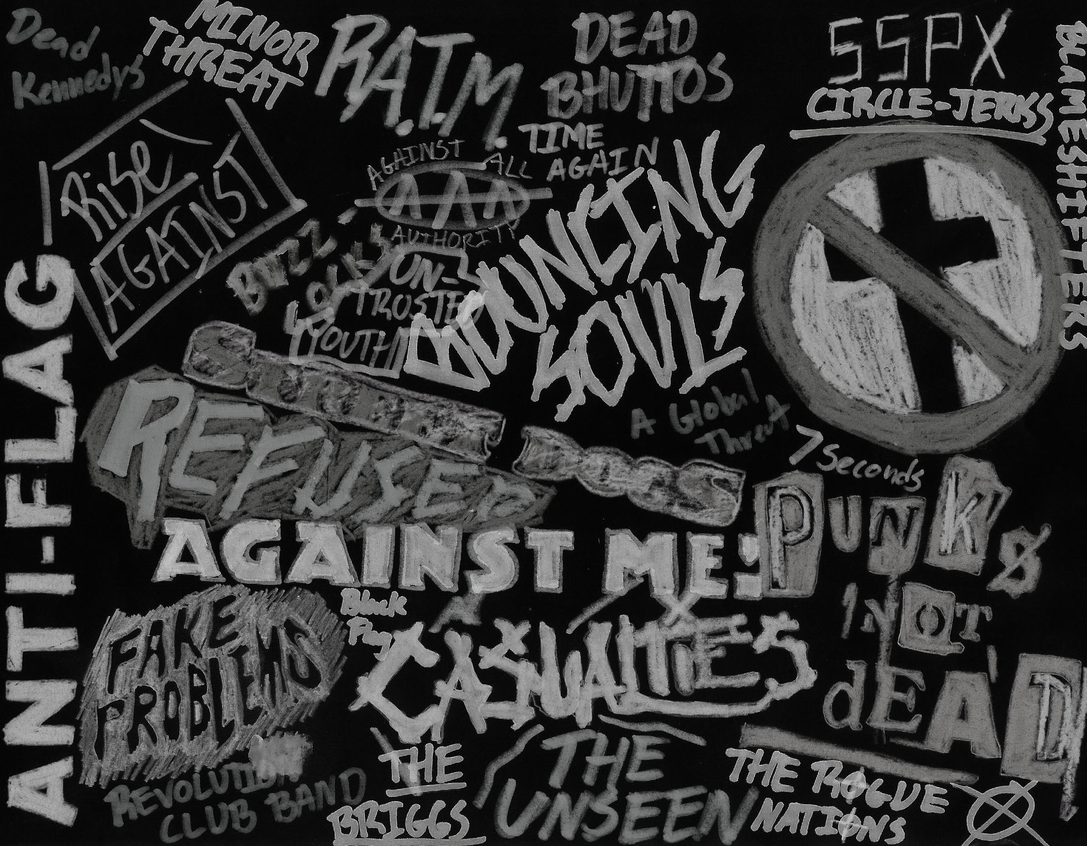 Punk music backgrounds
