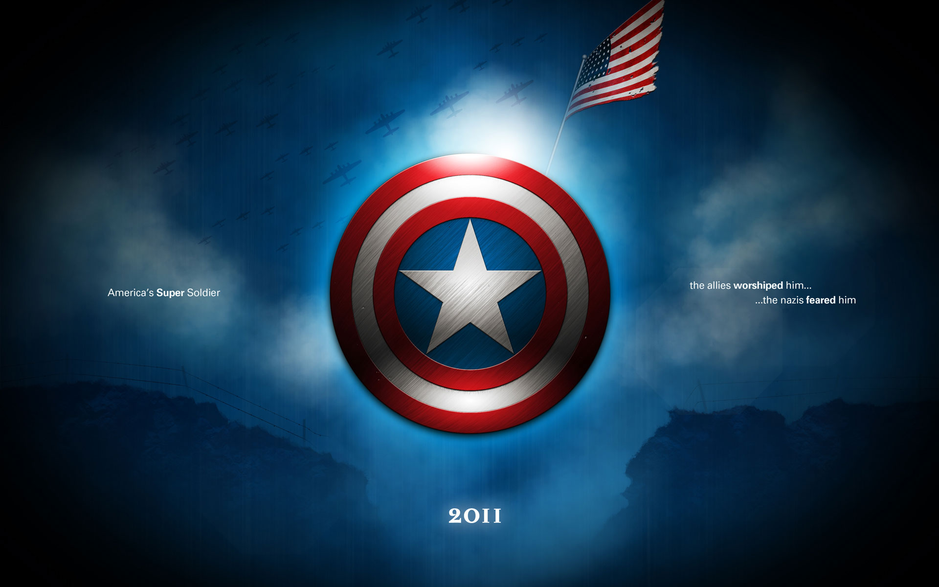 Wallpapers   Captain America Logo wallpaper 1920x1200