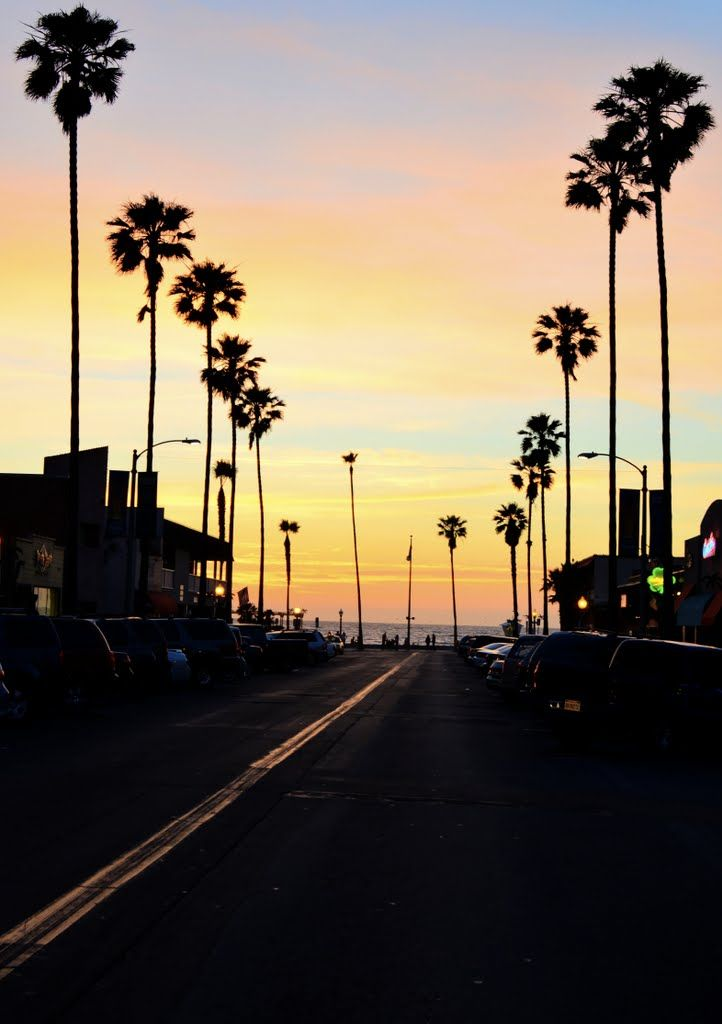 Beautiful Sunset at Venice Beach California The Wide Wonderful 722x1024