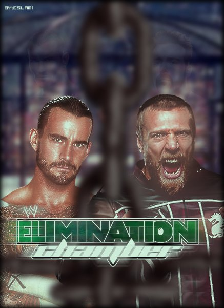 wwe elimination chamber 2012 poster by e5lam1 437x600
