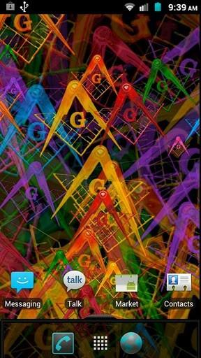 View bigger   Freemason Live Wallpaper for Android screenshot 288x512