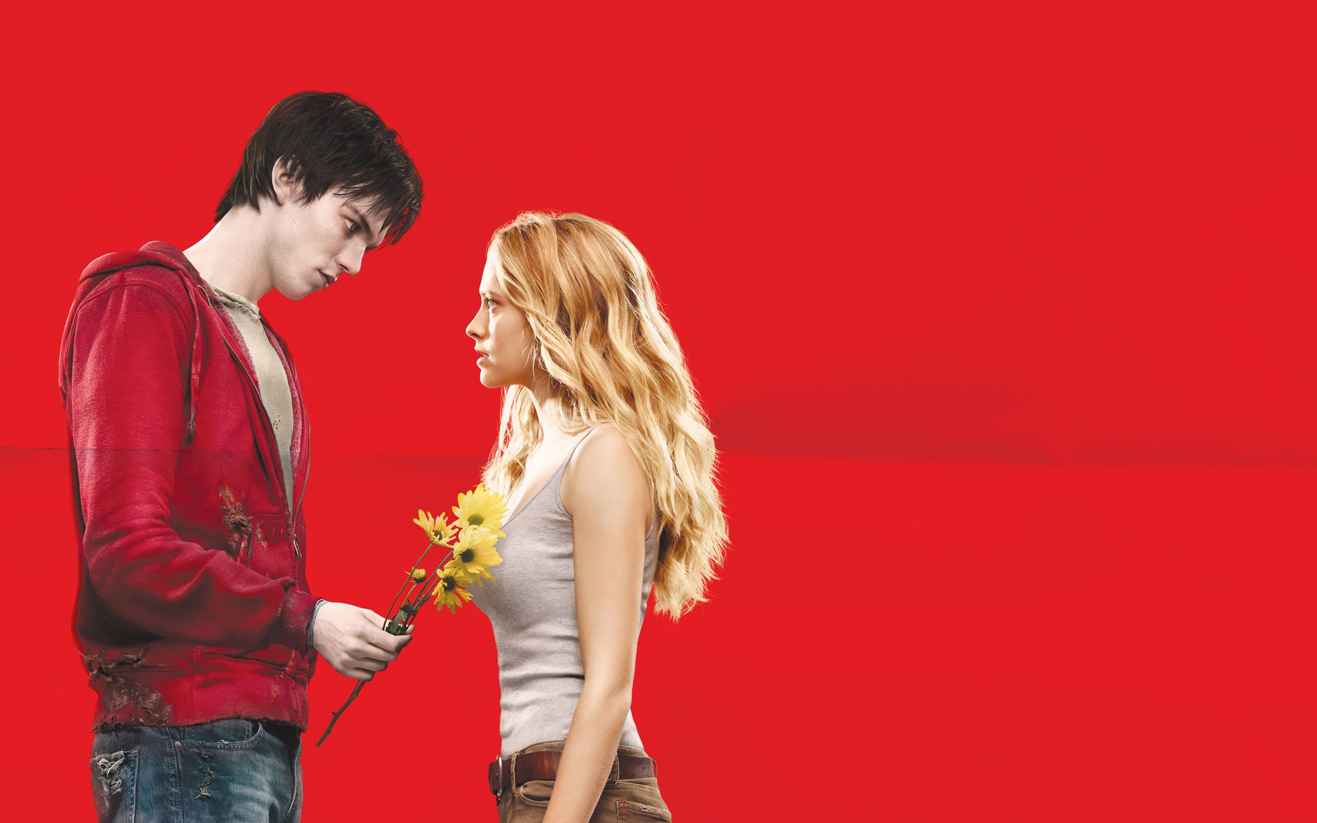 Nicholas Hoult in Warm Bodies wallpaper 2560x1600