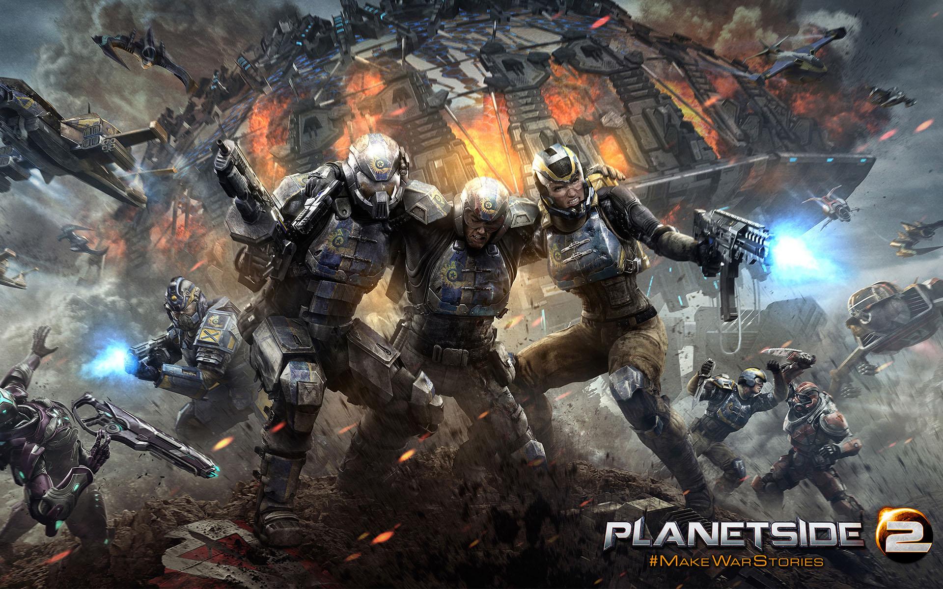 Planetside 2 PS4 Wallpaper 1920x1200