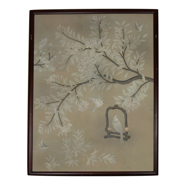 Chinoiserie Chic Framed Chinoiserie Wallpaper Panels 768x768