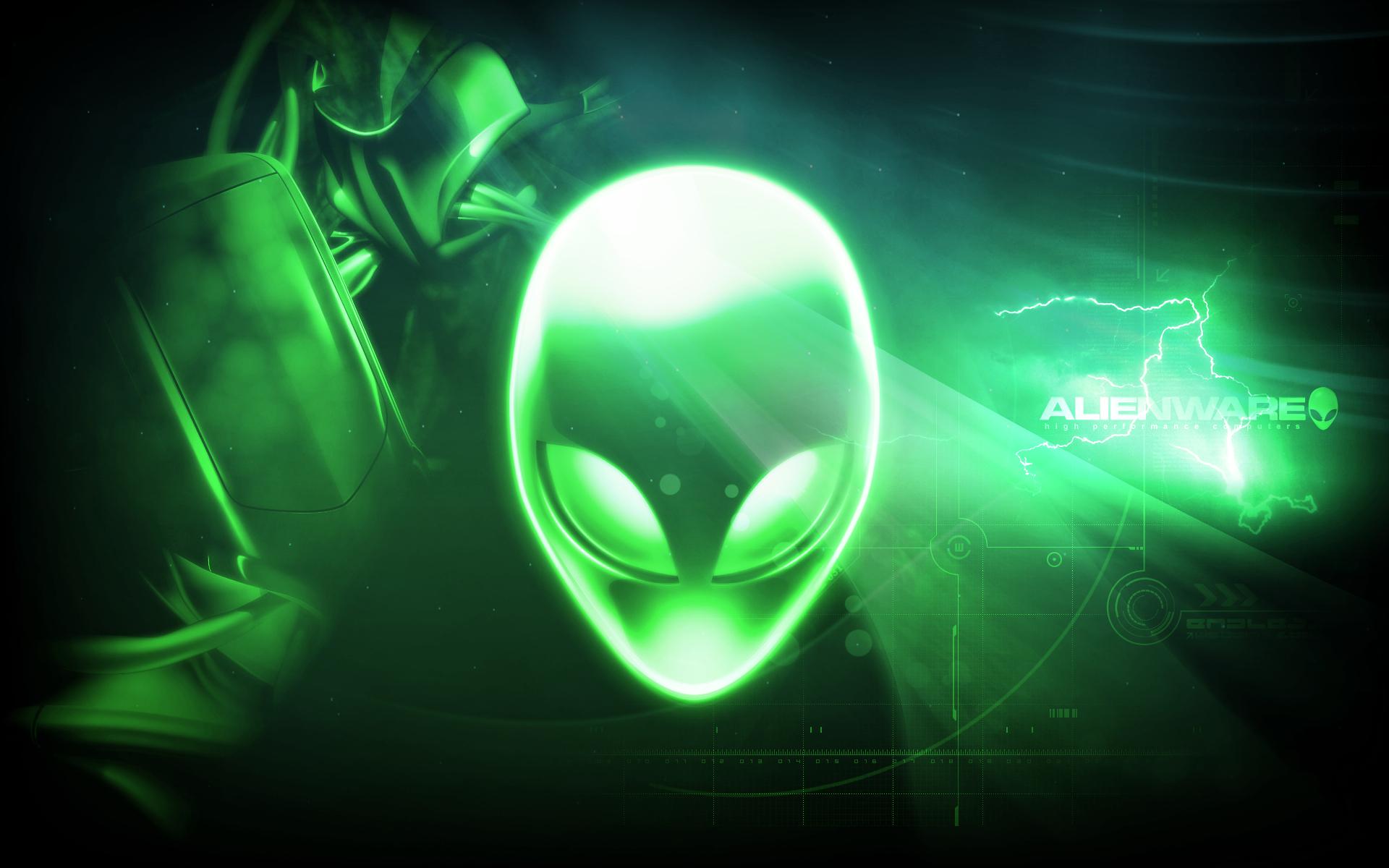 Promise Reloaded Alienware Desktop Green wallpapers HD   120791 1920x1200