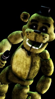 Download Golden Freddy wallpapers to your cell phone   faz 215x383