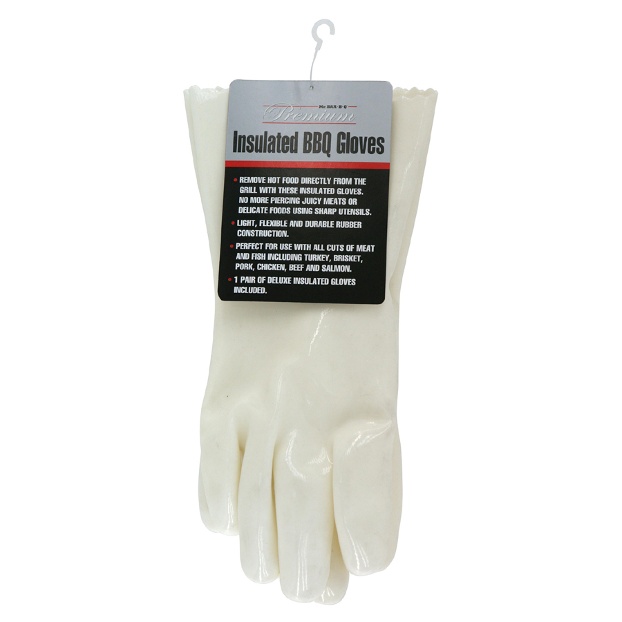 Shop Mr Bar B Q 2 Pack White Silicone Grill Gloves at Lowescom 900x900