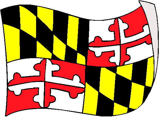 Maryland Flag   pictures and information about the flag of Maryland 520x384