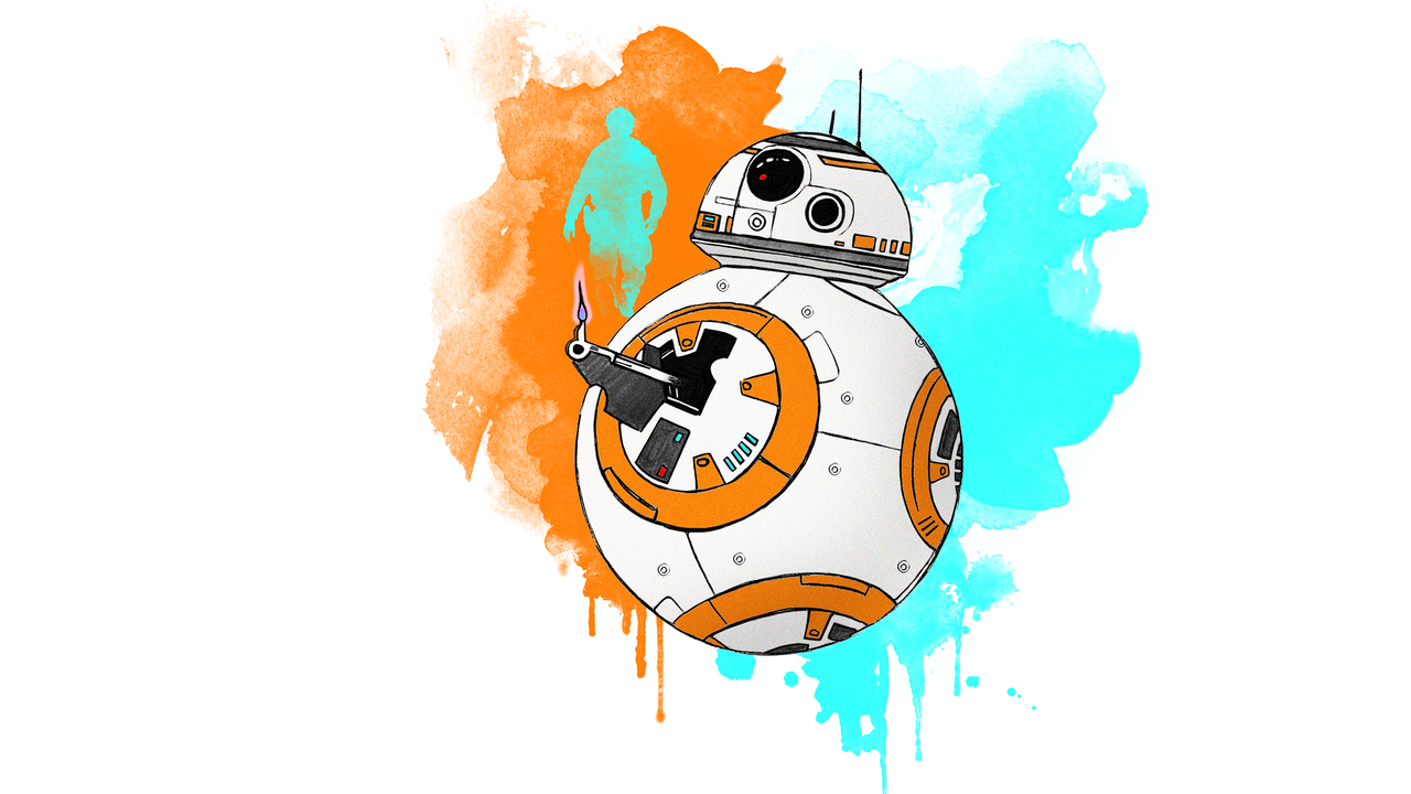 Free Download Bb 8 Wallpaper By Lieutenantsubtext 1280x720 For