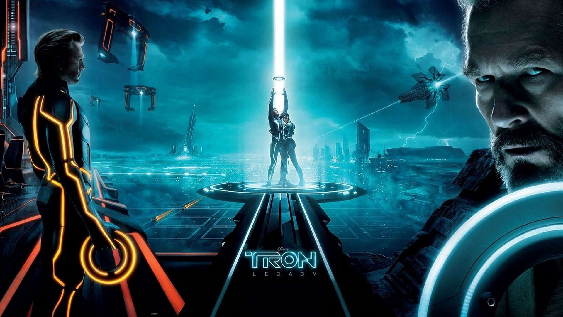 Free Download Disney Tron Legacy 1920x1080 Wallpaper Fond