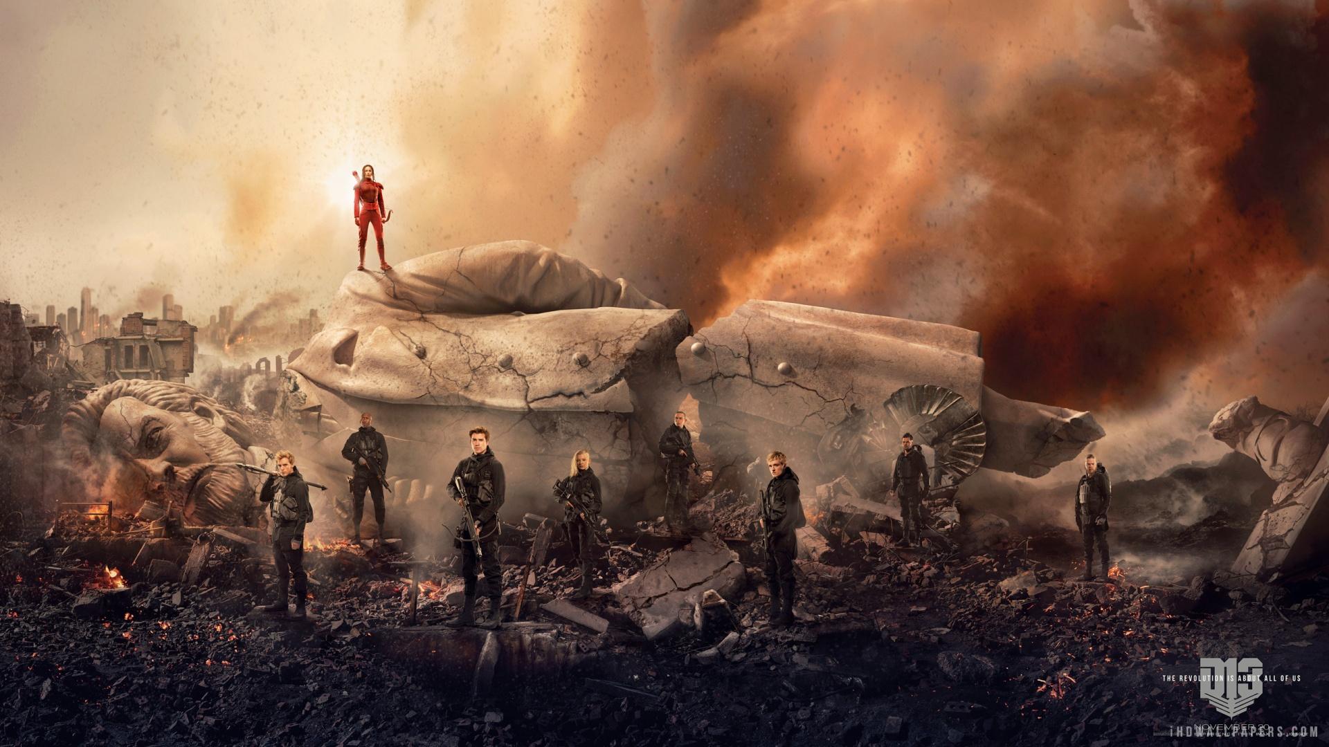 The Hunger Games Mockingjay Part 2 Movie 2015 HD Wallpaper   iHD 1920x1080