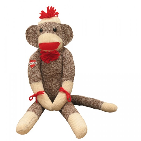 Classic Sock Monkey ProfessorPincushion Desktop Background