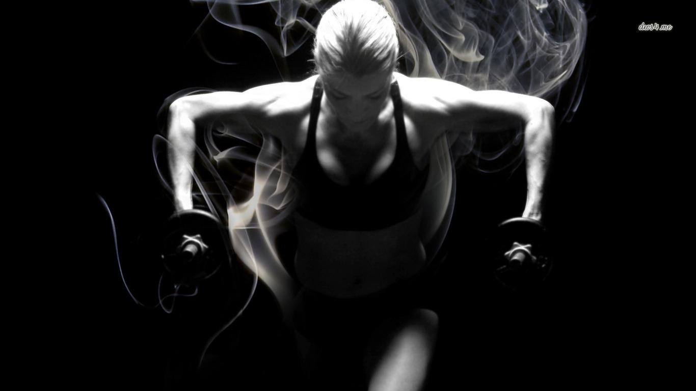[49+] Female Fitness Wallpaper On WallpaperSafari