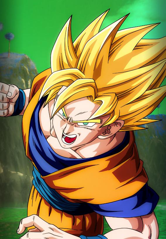 Dragonball Z Goku Mobile Device Wallpaper by Nolan989890 567x817