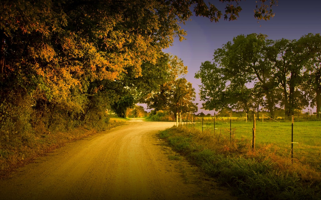 Country Road Wallpaper 14955 1280x800